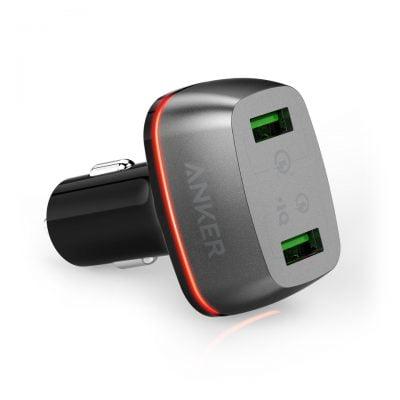 شارژر فندکی انکر Anker PowerDrive+2